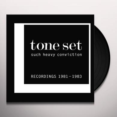 TONE SET SUCH HEAVY CONVICTION: RECORDINGS 1981-1983 Vinyl Record - Limited Edition