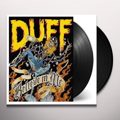 Duff Mckagan BELIEVE IN ME Vinyl Record - Holland Import