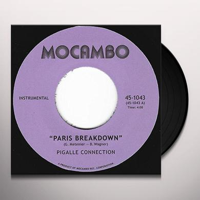 PIGALLE CONNECTION PARIS BREAKDOWN Vinyl Record