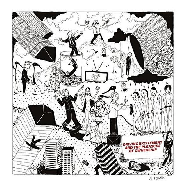 JC FLOWERS DRIVING EXCITEMENT & THE PLEASURE Vinyl Record - UK Release