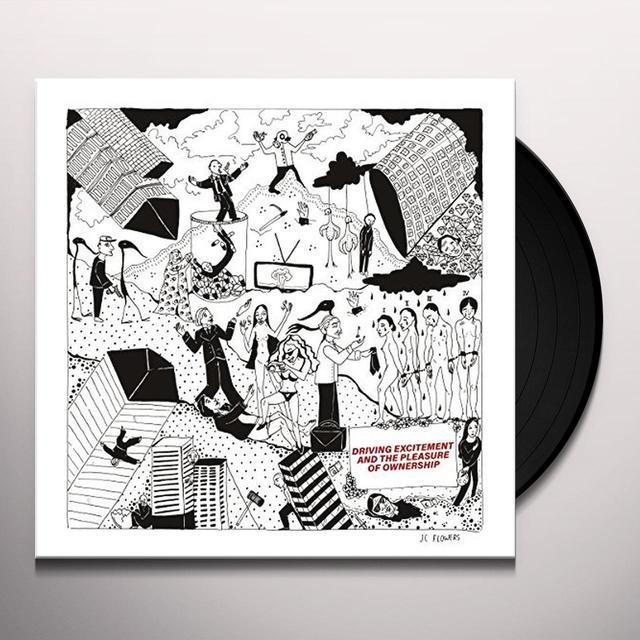 JC FLOWERS DRIVING EXCITEMENT & THE PLEASURE Vinyl Record - UK Import