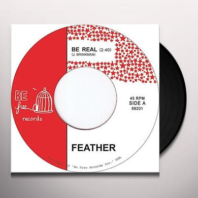 Feather BE REAL Vinyl Record - UK Import