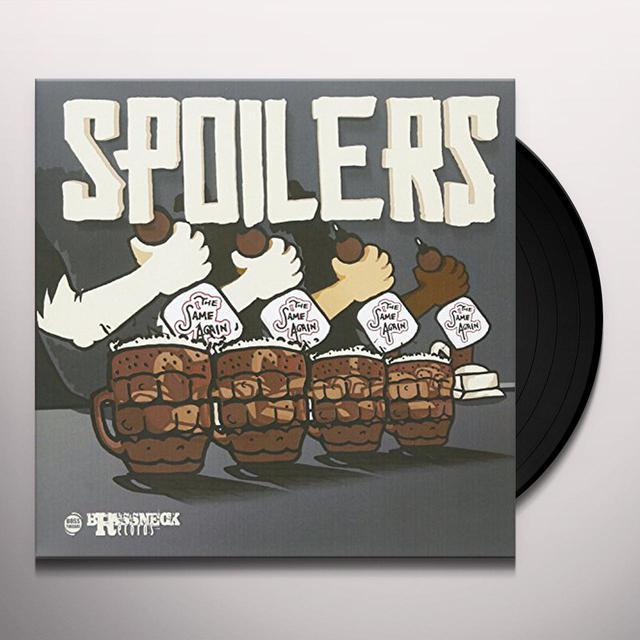 SPOILERS / NO MARKS SPLIT Vinyl Record