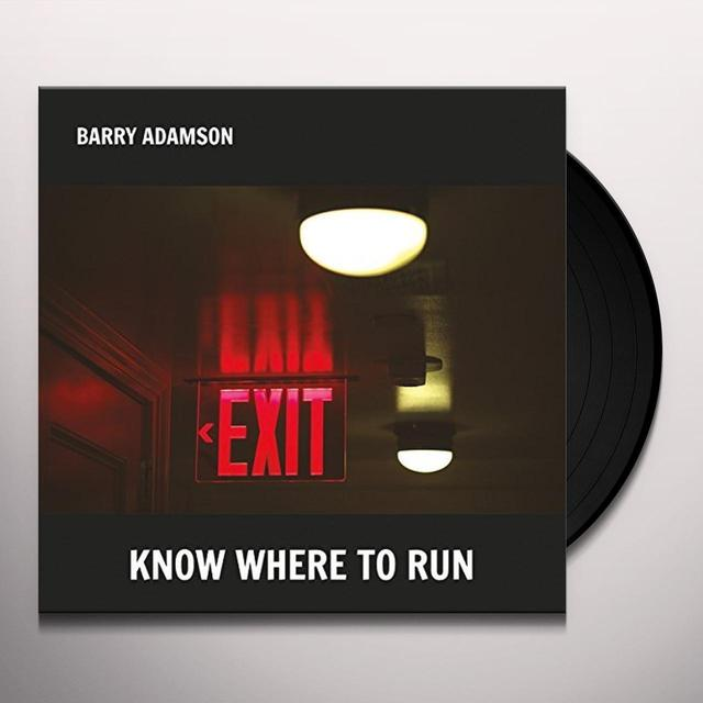 Barry Adamson KNOW WHERE TO HIDE Vinyl Record - UK Import