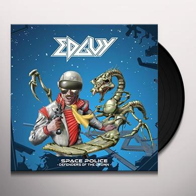 Edguy SPACE POLICE - DEFENDERS Vinyl Record - UK Import