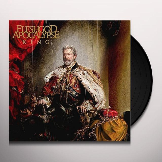 FLESHGOD APOCALPYSE KING Vinyl Record - UK Release