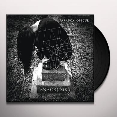 PARADOX OBSCUR ANACRUSIS Vinyl Record - UK Import