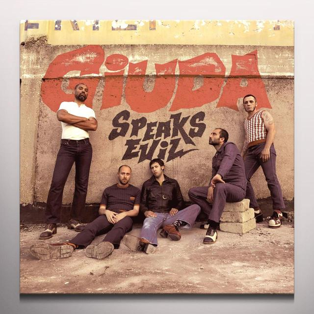 Giuda SPEAKS EVIL Vinyl Record