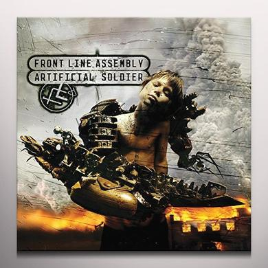 Front Line Assembly ARTIFICIAL SOLDIER Vinyl Record - Colored Vinyl