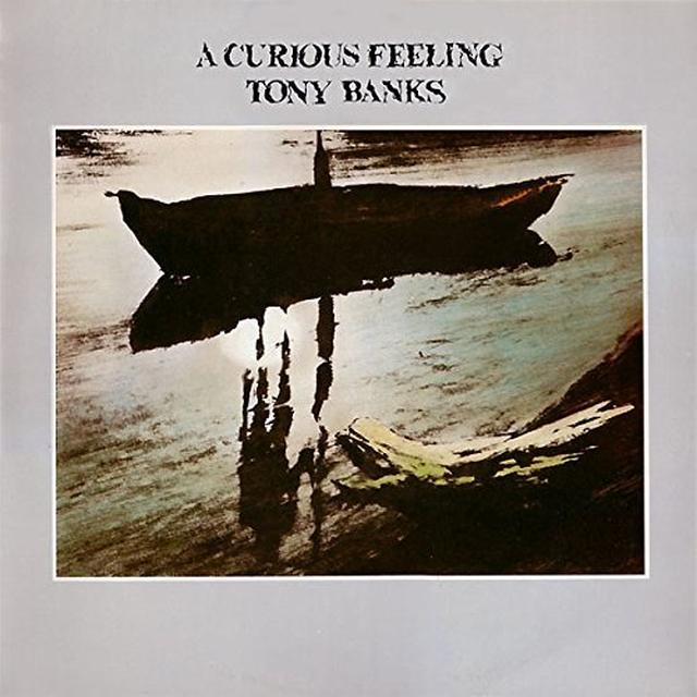 Tony Banks CURIOUS FEELING Vinyl Record