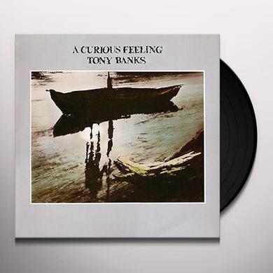 Tony Banks CURIOUS FEELING Vinyl Record - 180 Gram Pressing