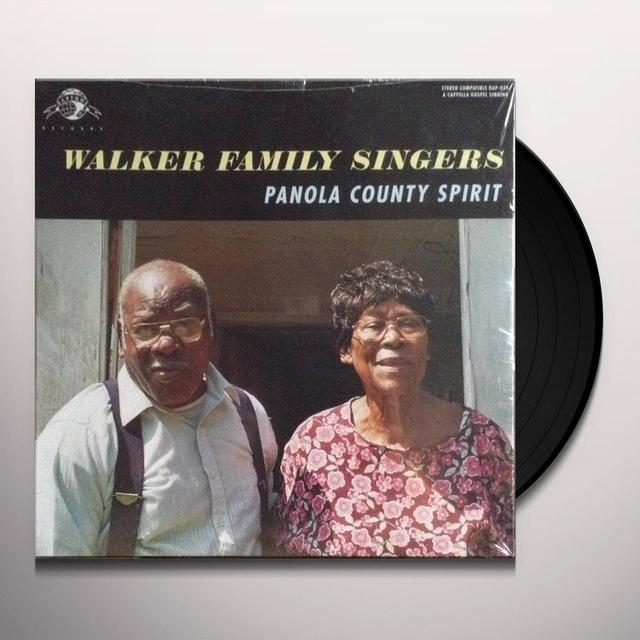 WALKER FAMILY SINGERS PANOLA COUNTY SPIRIT Vinyl Record