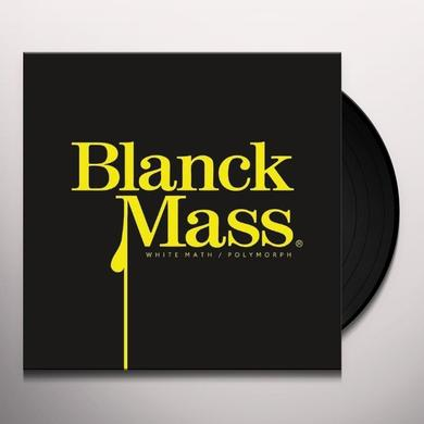 Blanck Mass WHITE MATH Vinyl Record
