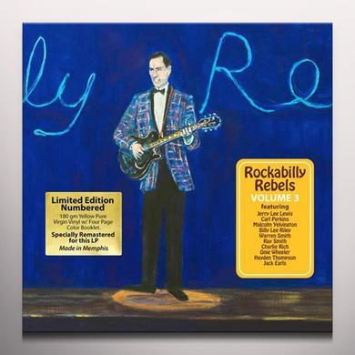 ROCKABILLY REBELS 3 / VARIOUS (COLV) (WB) ROCKABILLY REBELS 3 / VARIOUS  (WB) Vinyl Record - Colored Vinyl