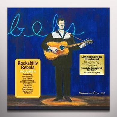 ROCKABILLY REBELS 4 / VARIOUS (COLV) (WB) ROCKABILLY REBELS 4 / VARIOUS  (WB) Vinyl Record - Colored Vinyl
