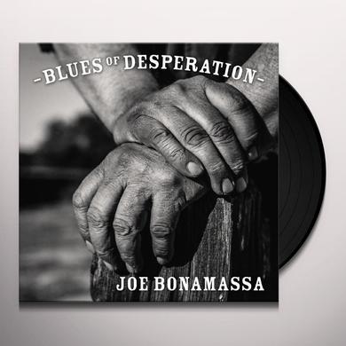 Joe Bonamassa BLUES OF DESPERATION Vinyl Record - Gatefold Sleeve