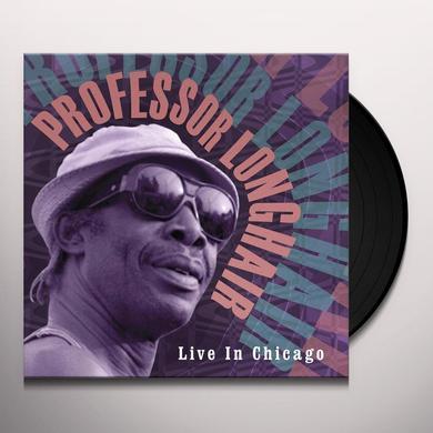 Professor Longhair LIVE IN CHICAGO Vinyl Record