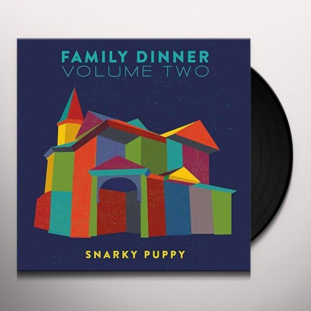 Snarky Puppy FAMILY DINNER 2 (W/DVD) Vinyl Record - 180 Gram Pressing