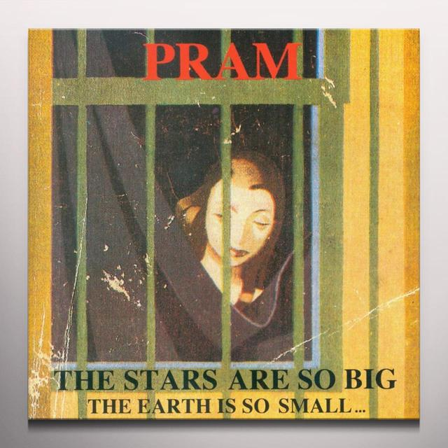 Pram STARS ARE SO BIG...THE EARTH IS SO SMALL Vinyl Record - Colored Vinyl