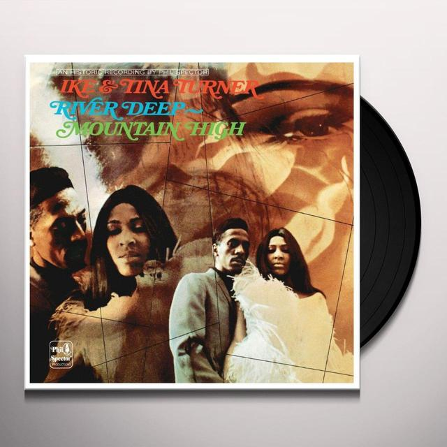 Ike & Tina Turner RIVER DEEP - MOUNTAIN HIGH Vinyl Record