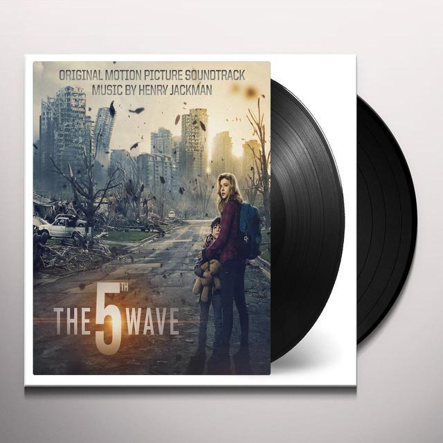Henry Jackman 5TH WAVE Vinyl Record - Gatefold Sleeve, 180 Gram Pressing, Poster