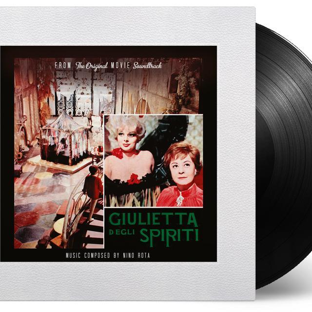 Nino Rota GIULIETTA DEGLI SPIRITI Vinyl Record - 180 Gram Pressing