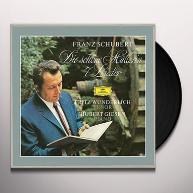 SCHUBERT / WUNDERLICH / GIESEN DIE SCHONE MULLERIN / 7 LIEDER Vinyl Record - 180 Gram Pressing