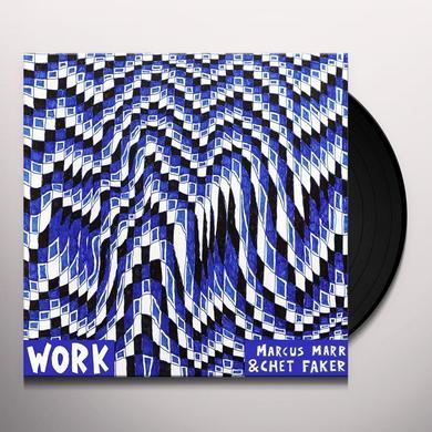 Marcus Marr / Chet Faker WORK (EP) Vinyl Record