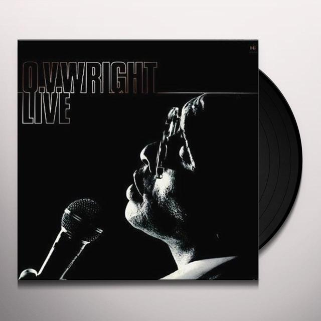 Ov Wright LIVE Vinyl Record