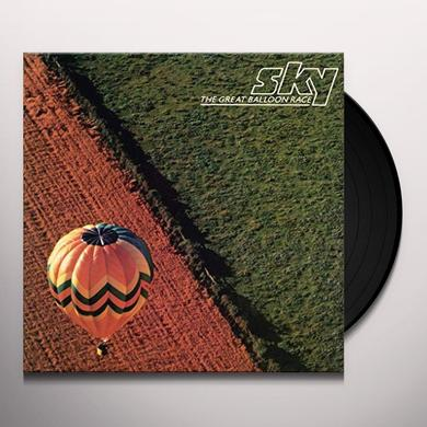 Sky GREAT BALLOON RACE Vinyl Record