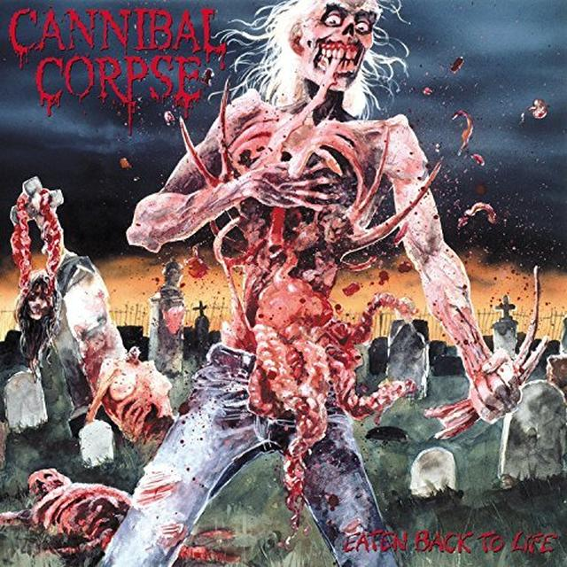 Cannibal Corpse EATEN BACK TO LIFE Vinyl Record