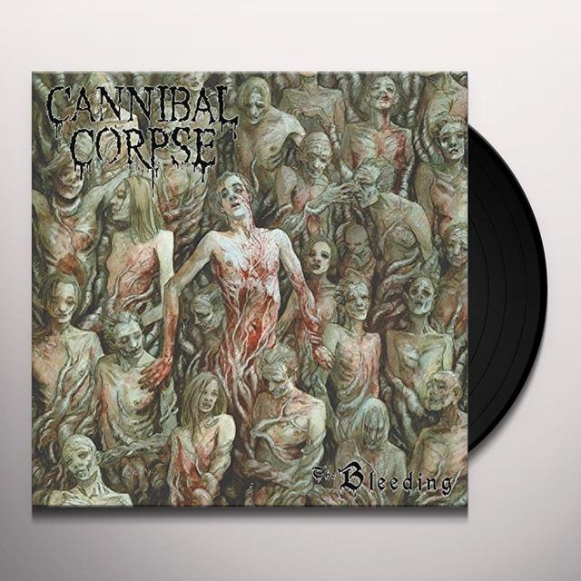 Cannibal Corpse BLEEDING Vinyl Record