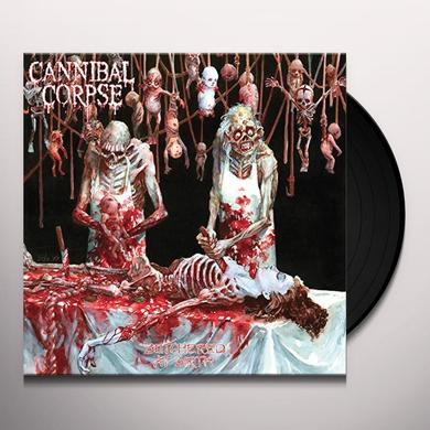 Cannibal Corpse BUTCHERED AT BIRTH Vinyl Record