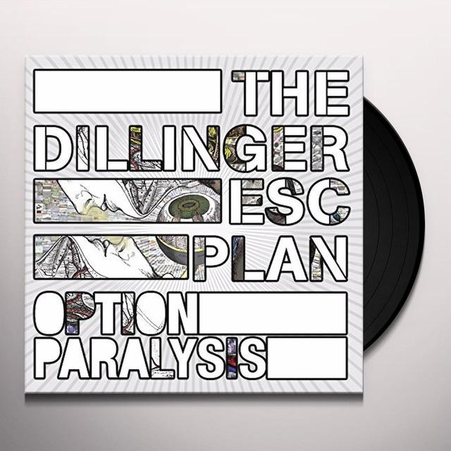 Dillinger Escape Plan OPTION PARALYSIS Vinyl Record