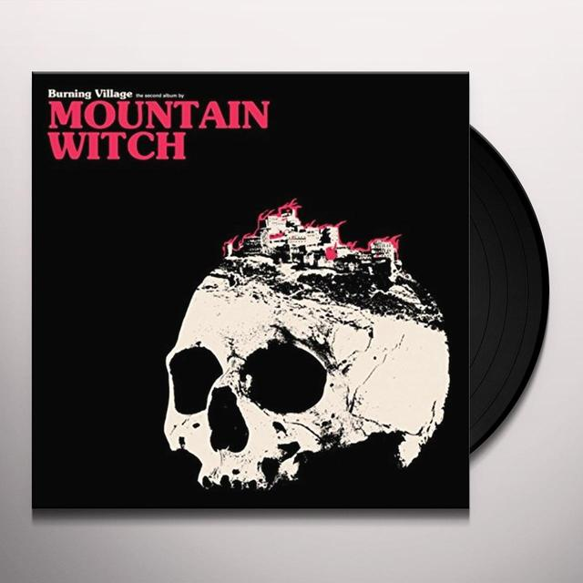 Mountain Witch BURNING VILLAGE Vinyl Record