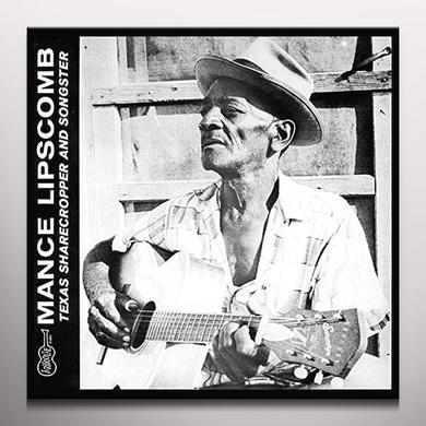 Mance Lipscomb TEXAS SHARECROPPER & SONGSTER Vinyl Record - Colored Vinyl, Green Vinyl
