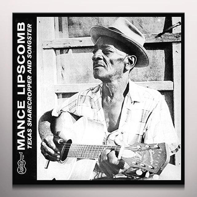 Mance Lipscomb TEXAS SHARECROPPER & SONGSTER Vinyl Record - Colored Vinyl, Green Vinyl