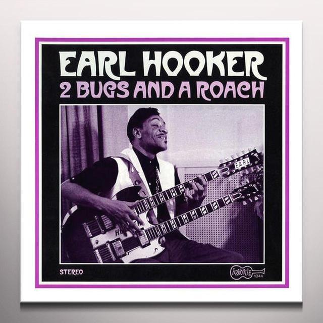 Earl Hooker 2 BUGS & A ROACH Vinyl Record - Colored Vinyl, Gold Vinyl