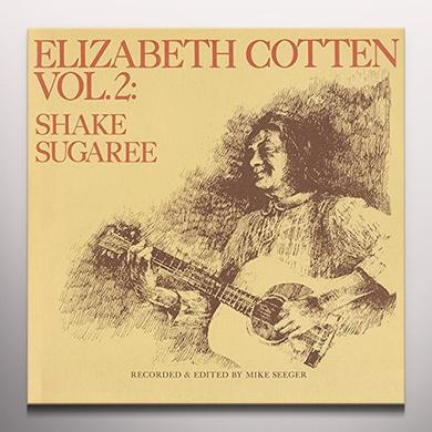 Elizabeth Cotten SHAKE SUGAREE 2 Vinyl Record - Colored Vinyl, Limited Edition, Yellow Vinyl