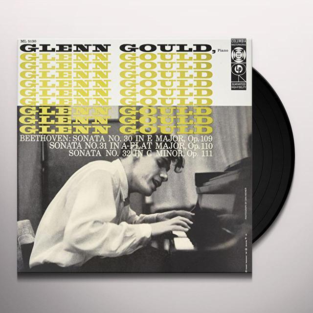 Glenn Gould BEETHOVEN SONATAS 30-32 Vinyl Record