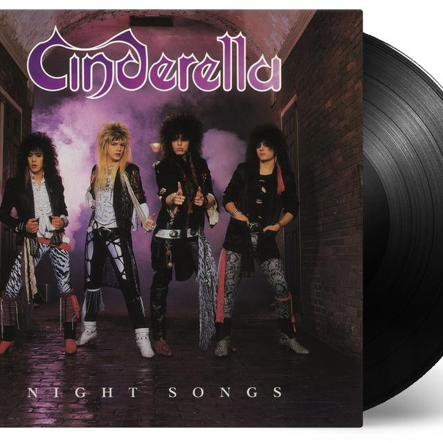 Cinderella NIGHT SONGS Vinyl Record