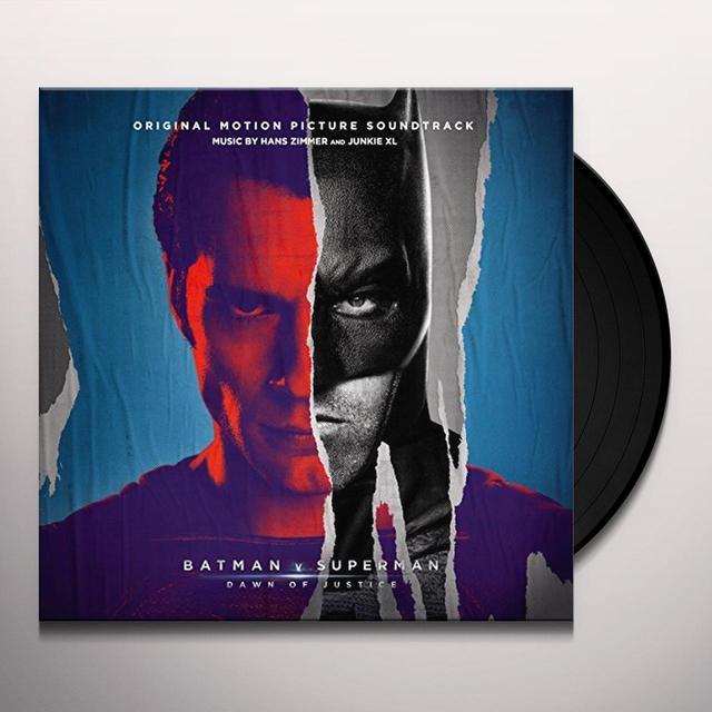 Hans Zimmer / Junkie Xl BATMAN V SUPERMAN: DAWN OF JUSTICE / O.S.T. Vinyl Record - Portugal Import