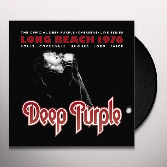 Deep Purple LIVE AT LONG BEACH ARENA 1976 Vinyl Record