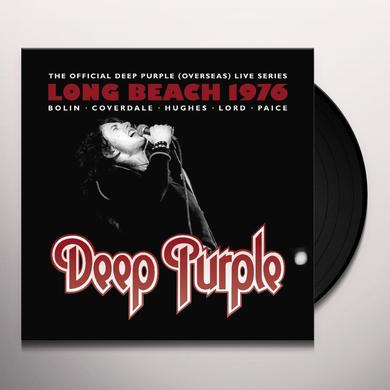 Deep Purple LIVE AT LONG BEACH ARENA 1976 Vinyl Record - UK Import