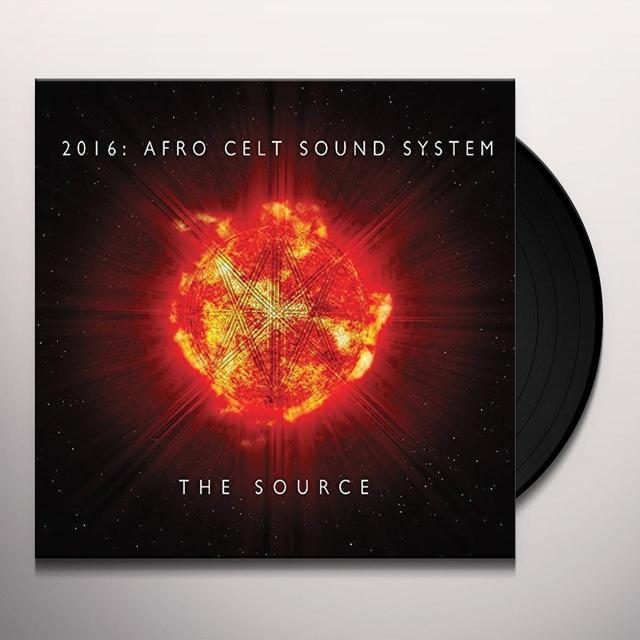 Afro Celt Sound System SOURCE Vinyl Record
