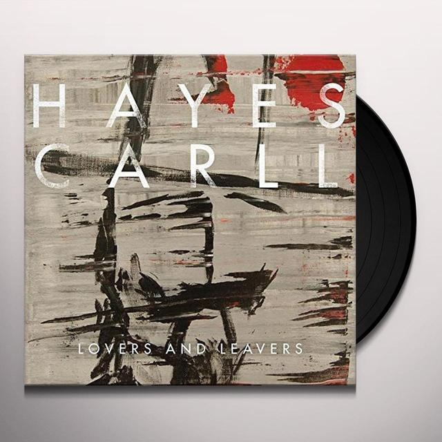 Hayes Carll LOVERS & LEAVERS Vinyl Record - UK Release