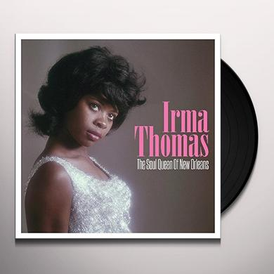 Irma Thomas SOUL QUEEN OF NEW ORLEANS Vinyl Record - UK Import