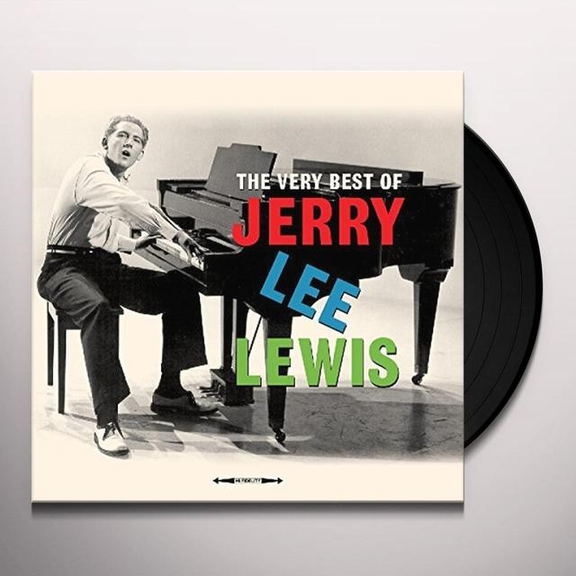 Jerry Lee Lewis VERY BEST OF Vinyl Record - UK Import