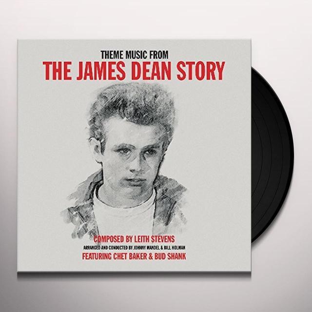 Chet Baker / Bud Shank JAMES DEAN STORY Vinyl Record