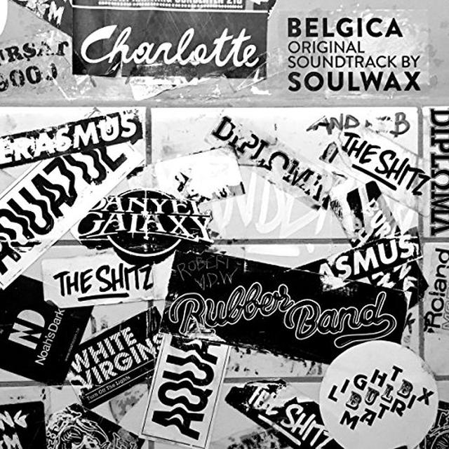 SOULWAX (UK) BELGICA ORIGINAL SOUNDTRACK Vinyl Record - UK Release